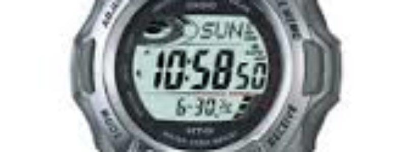 Review of the Casio GW-300 G-Shock Tough Solar Waveceptor