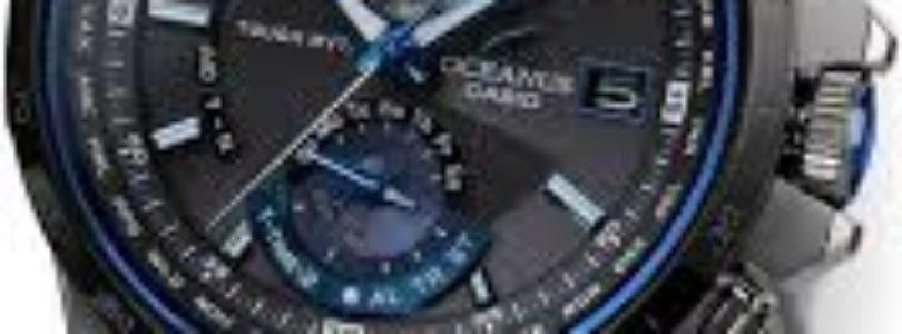 Casio Introduces Oceanus: The First Atomic Solar Chronograph