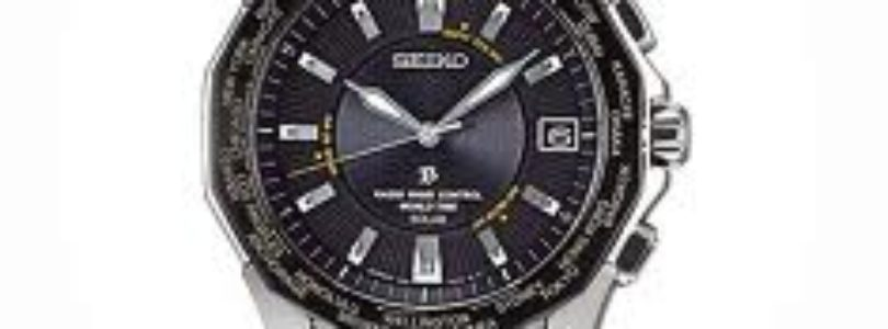 Seiko Worldwide Atomic Solar Watch