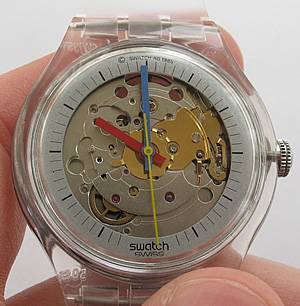 Swatch Automatic Jelly Fish