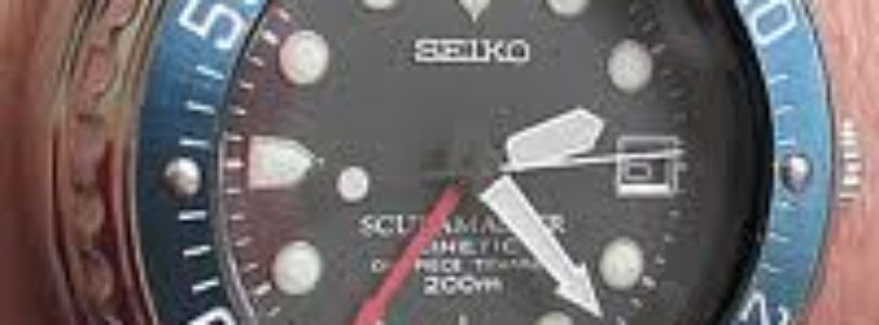 "Review of the Seiko Kinetic Scubamaster ""Stingray"""