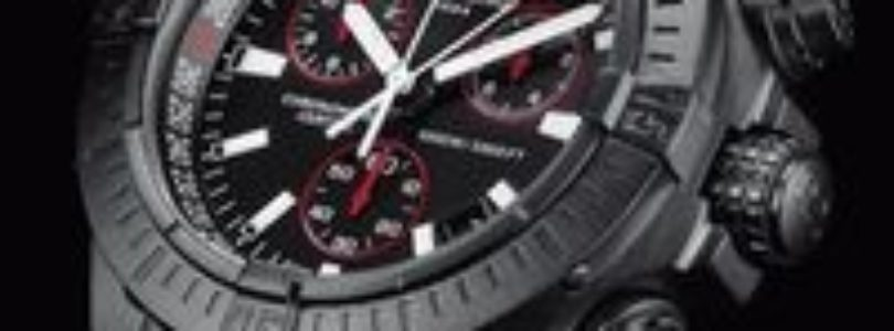 Breiting-Seawolf-Avenger-Blacksteel-Chronograph