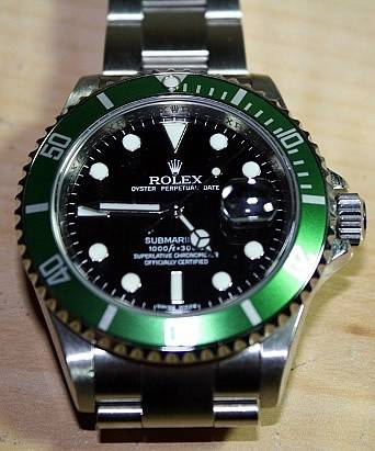 review of the rolex submariner 50th anniversary edition. Black Bedroom Furniture Sets. Home Design Ideas