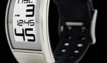 Phosphor-World-Time-E-Ink-Watch