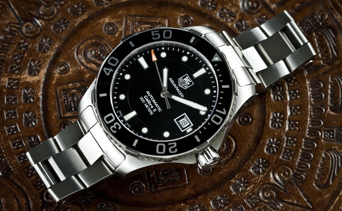 Tag Huar Watch >> Tag Heuer Aquaracer WAN2110 Review - WatchReport.com