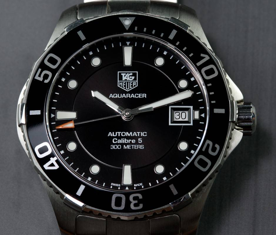 Tag: Tag Heuer Aquaracer WAN2110 Review