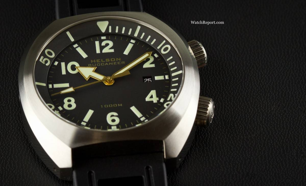 exclusive on with the new helson buccaneer 47mm