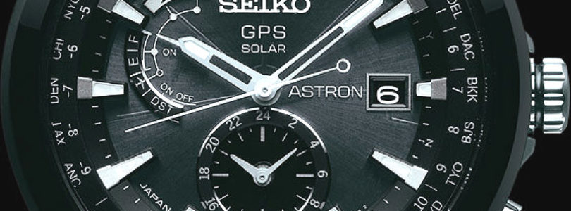 Seiko Announces the Astron featuring both GPS and Solar
