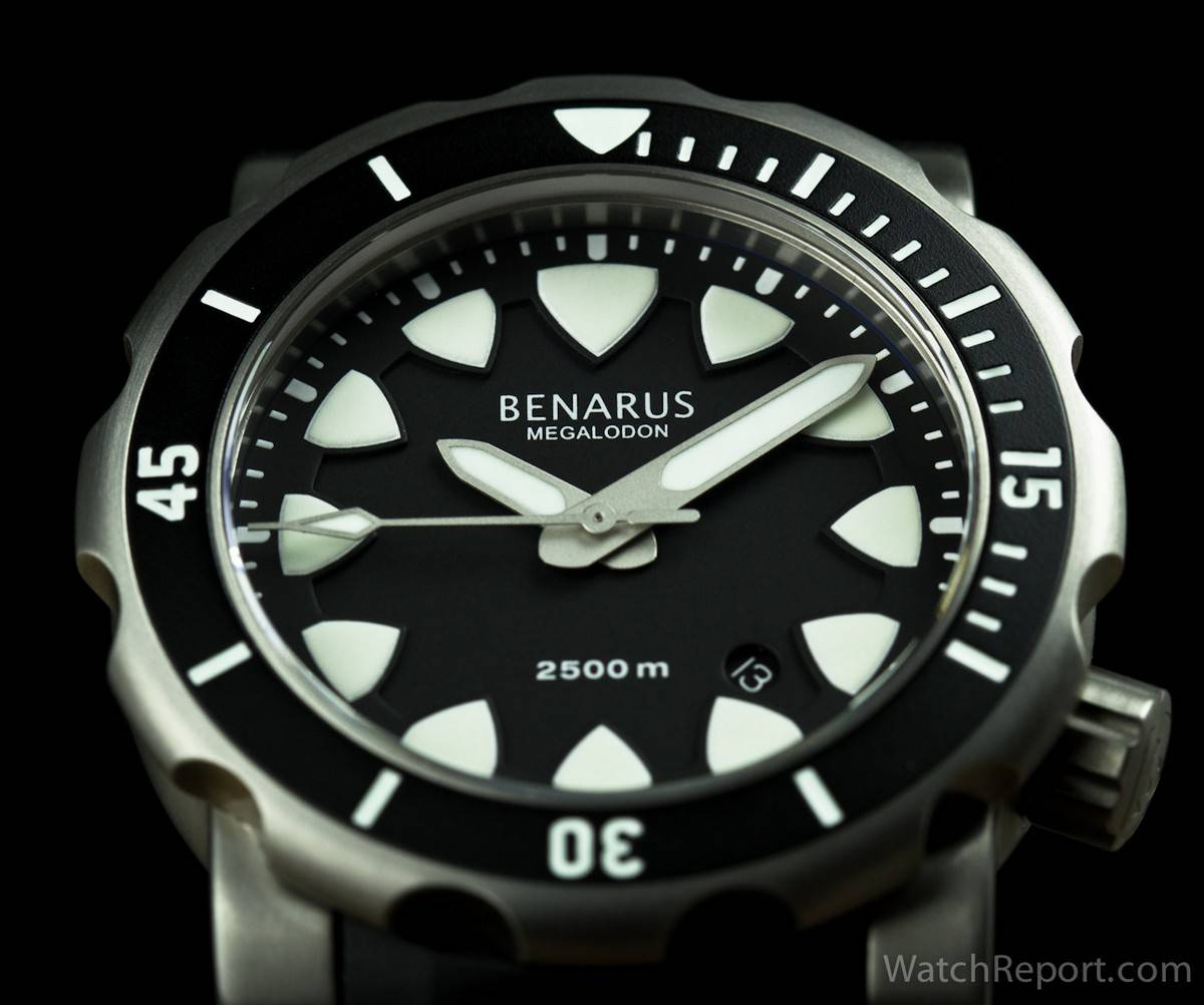 benarus megalodon 4 titanium review watchreport com