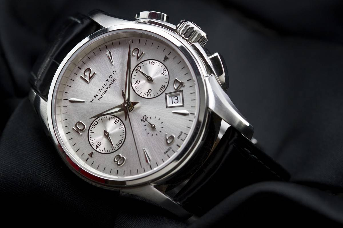 Hamilton jazzmaster auto chrono review