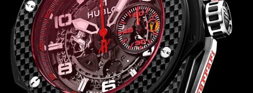 The Hublot Big Bang Ferrari Carbon Red Magic 45mm