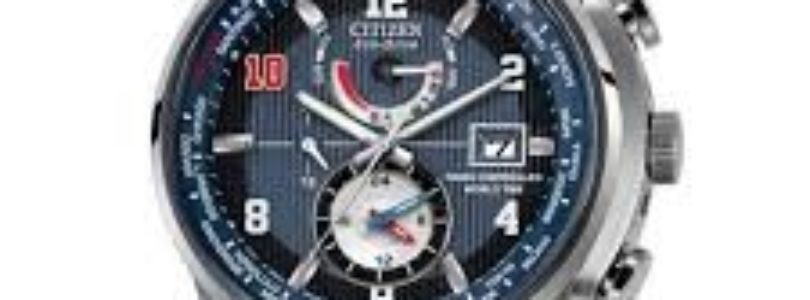 Citizen Eli Manning Limited Edition World Time A-T