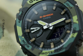 CasiOak Casio G-Shock GA2100SU-1A Review
