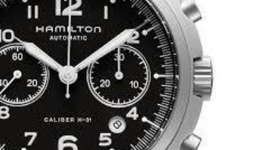 Hamilton Pilot Pioneer Auto Chrono