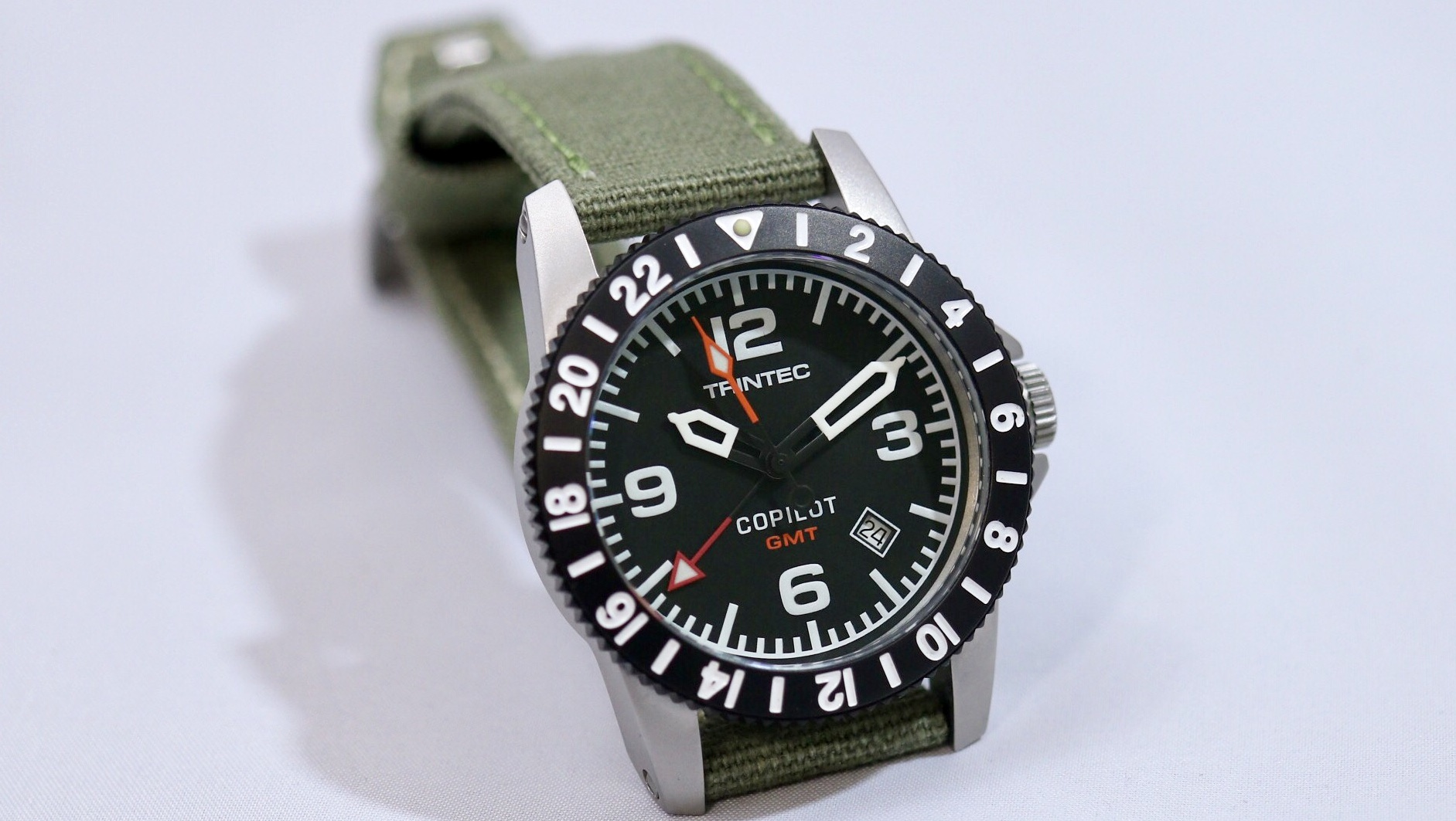 Trintec Copilot GMT And Chronograph