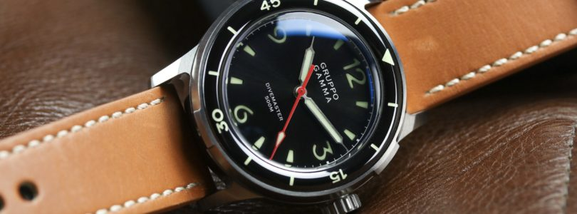 A Look At The Gruppo Gamma Divemaster MKII