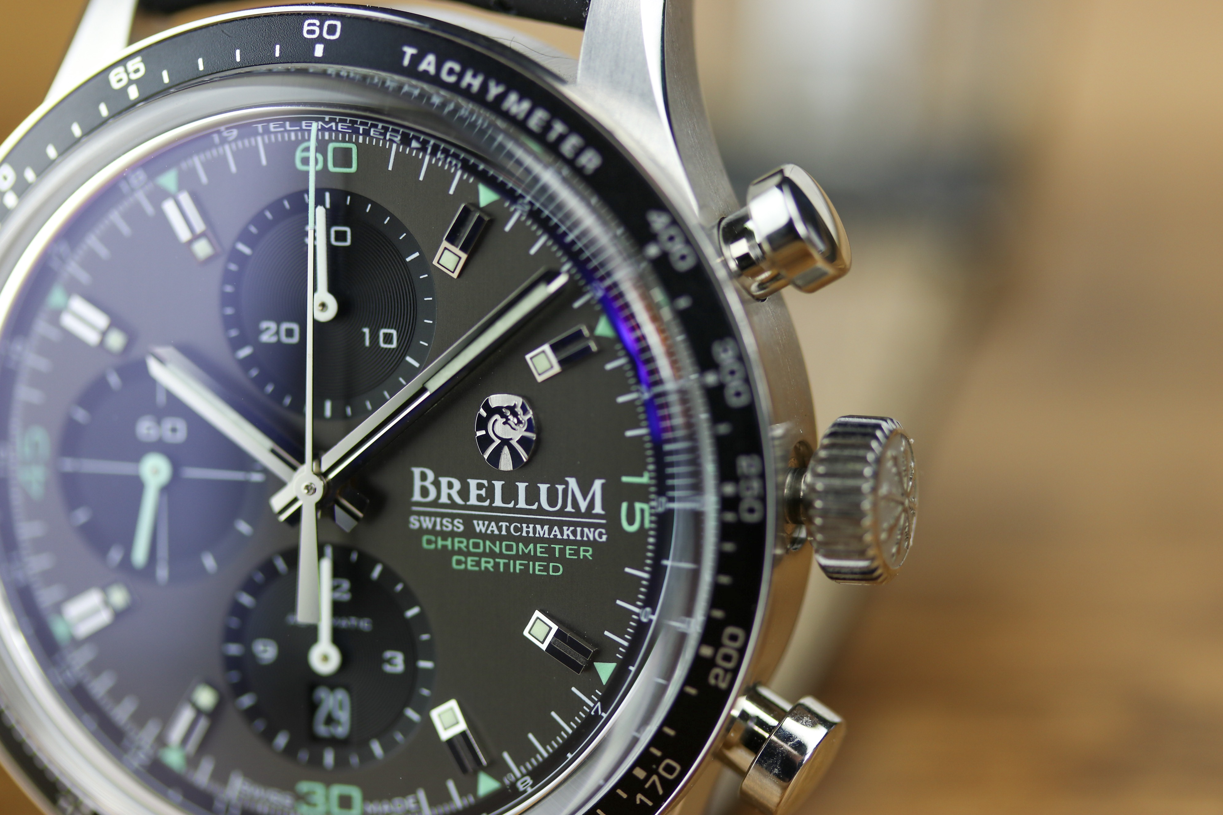 Brellum Swiss Watchmaking Pandial