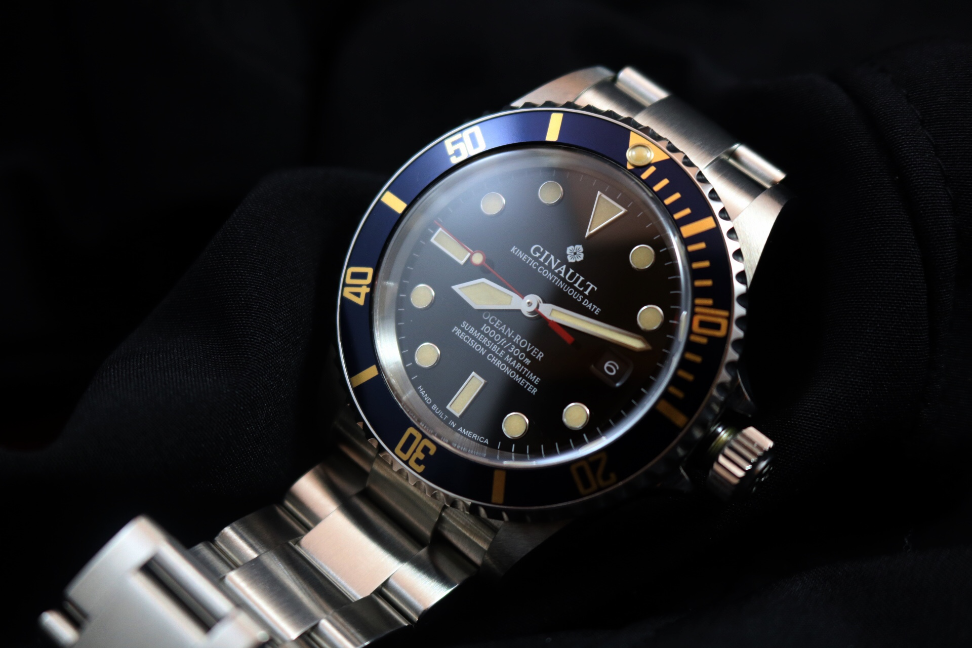 Ginault Ocean Rover Blue Gold