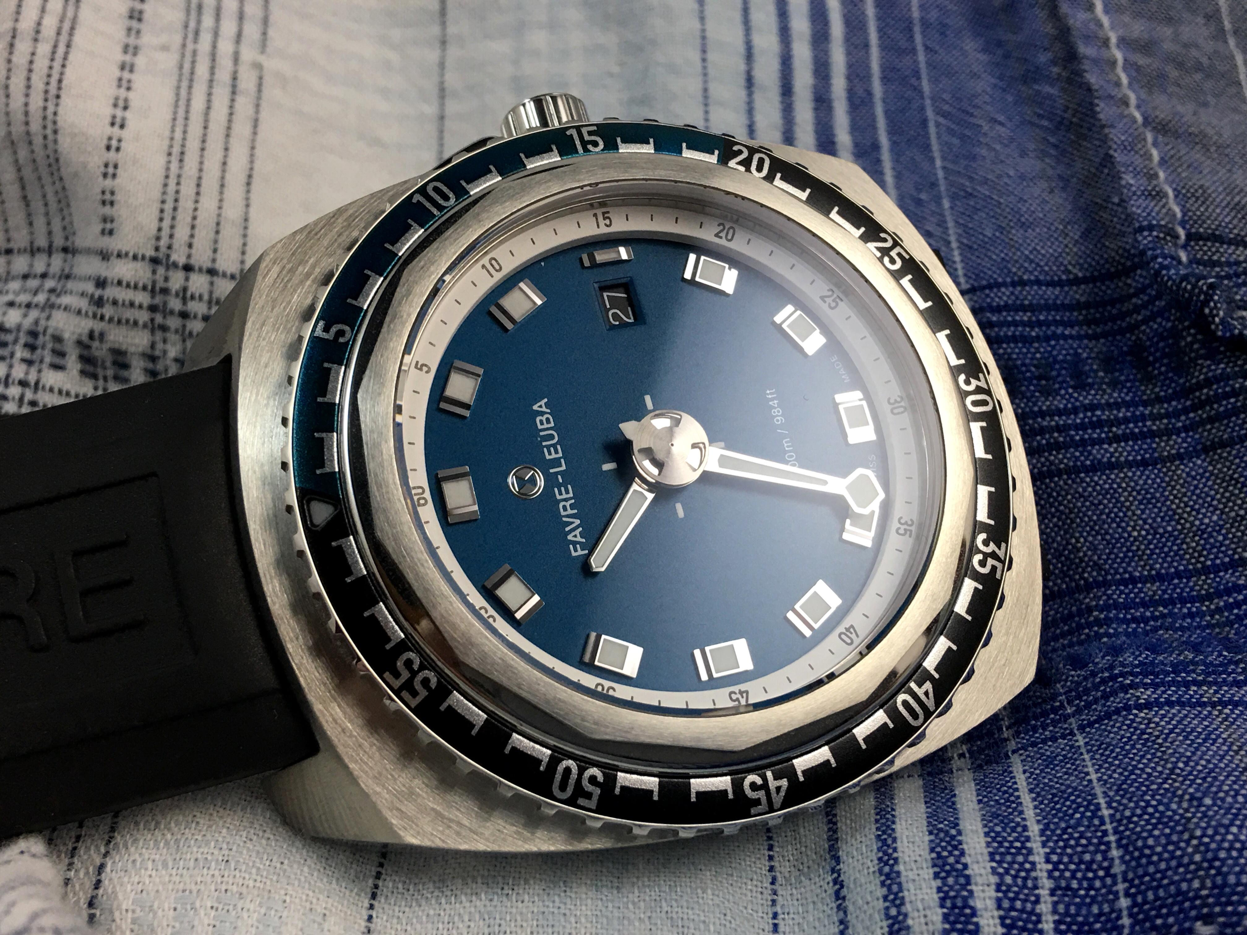 Favre Lueba Raider Deep Blue