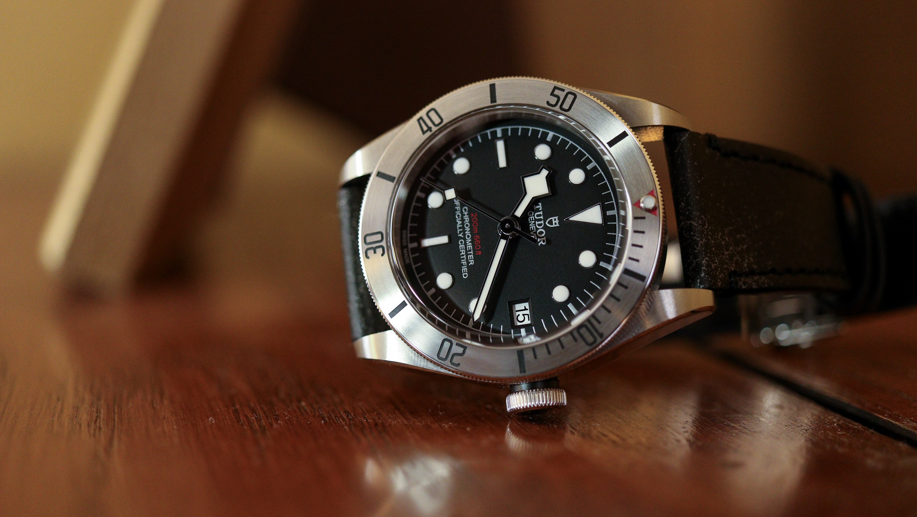 Tudor Black Bay Steel | Hands On Watch Review - WatchReport com