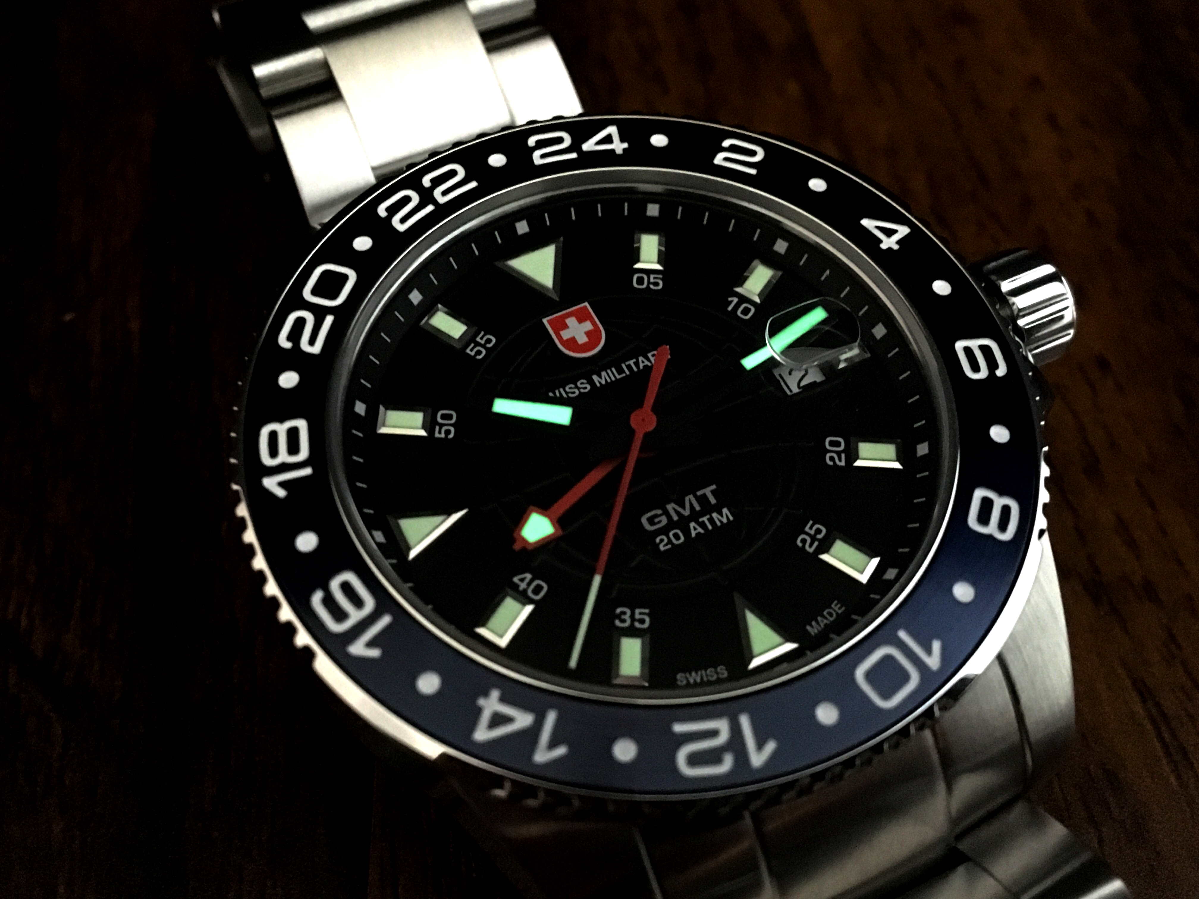 Swiss Military GMT