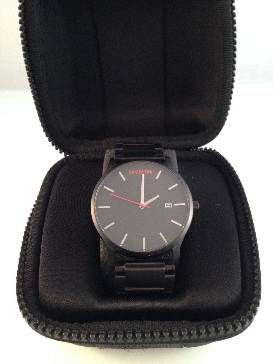 Mvmt watches black black watch review with video review for Wacthes mvmt