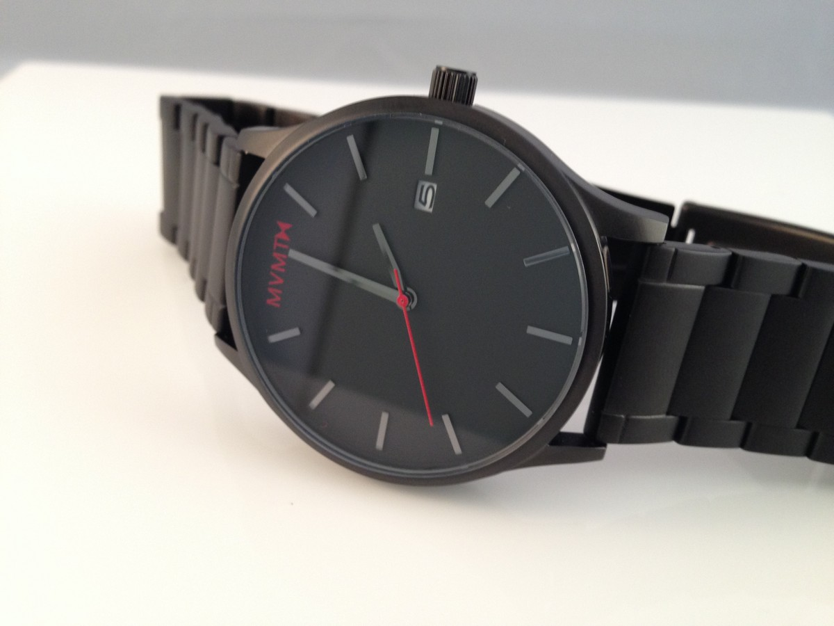mvmt watches black black review with review