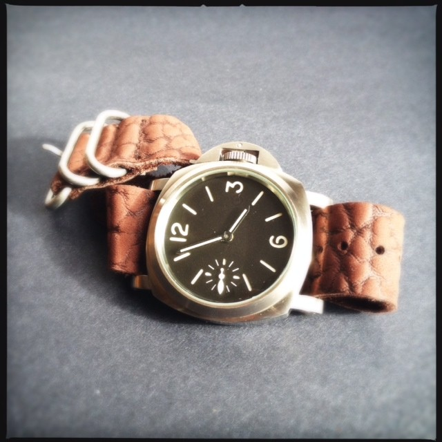 C&B-x-LZ-Chocolate-Walrus-NATO-Watch-Strap