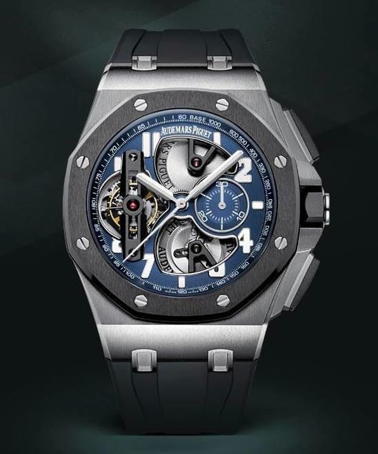 Audemars piguet royal oak offshore tourbillon chronograph for Ap royal oak offshore chronograph
