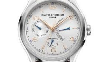 Baume-&-Mercier-Clifton-Retrograde-Date-Automatic
