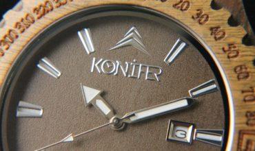 Konifer-navigator-army-wood-watch