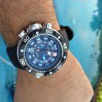 Citizen Eco Drive Promaster Aqualand Depth Meter