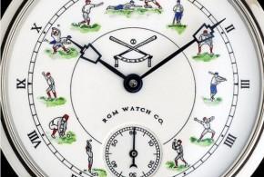 """RGM Releases """"Baseball in Enamel"""" Watch"""