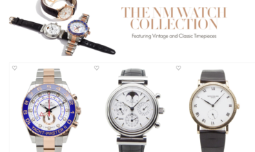 Neiman Marcus Gets Into the Vintage Watch Business