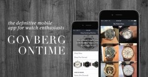 Show Off Your Watch Collection with OnTime App