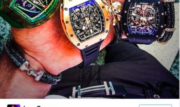 Mexican Drug Lords Flaunt Luxury Watches