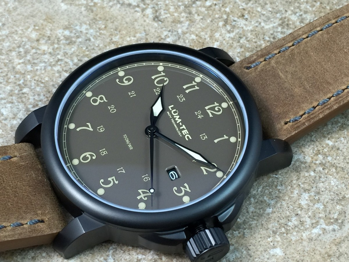 awesomer combat watches bronze lum the tec watch