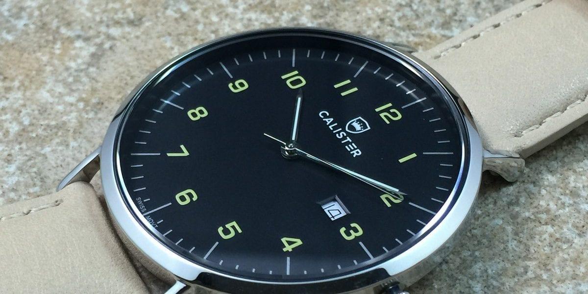 Watch Review Calister Bauhaus Watchreport Com