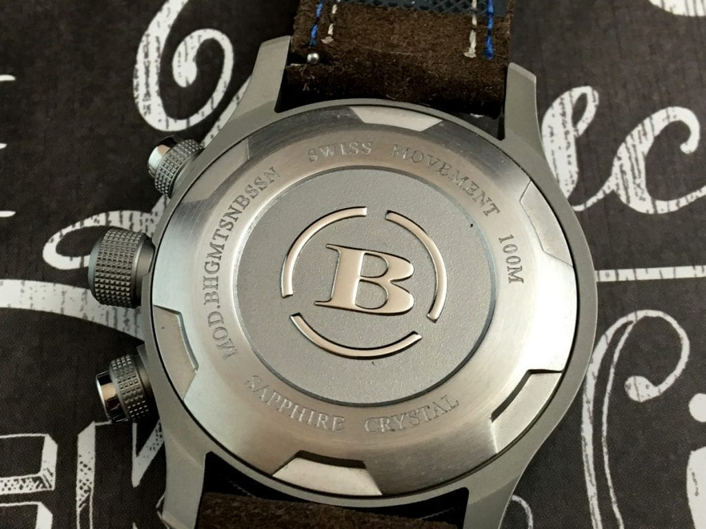 Watch Review Brera Orologi Eterno Gmt New Small Circle Blue