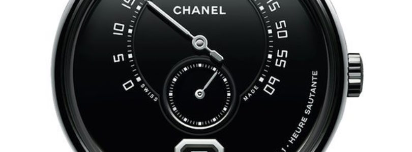 Take a look at the Limited Edition of Monsieur de Chanel in Black Enamel Dial