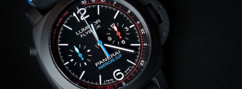 The America's Cup to get Five Limited Edition Watches from Panerai