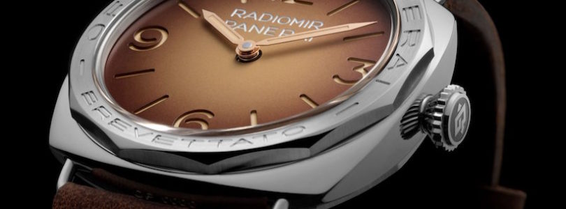 Take a look at the New Panerai Radiomir Special Edition