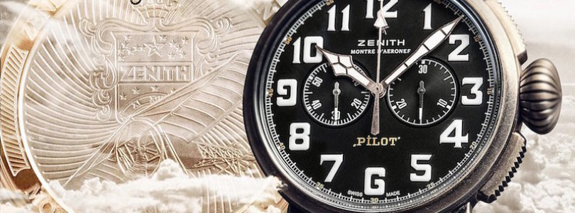 Zenith Introduces New Pilot Extra Special Chronograph Bronze