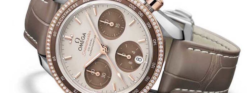 "OMEGA unveils the ""Cappuccino"" version of its Speedmaster watches"
