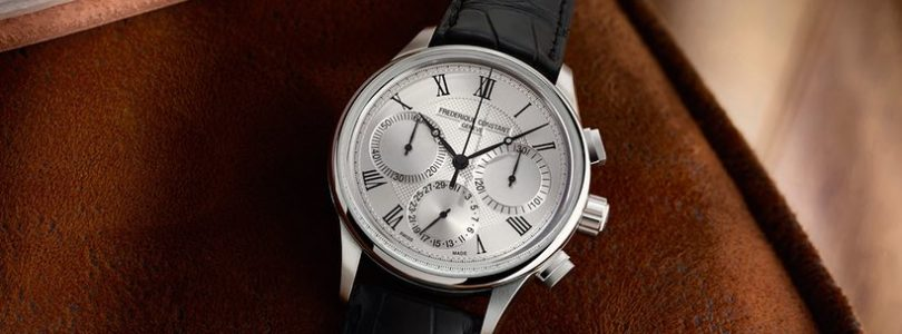 Frederique Constant Flyback Chronograph Manufacture Comes With the New FC-760 Movement