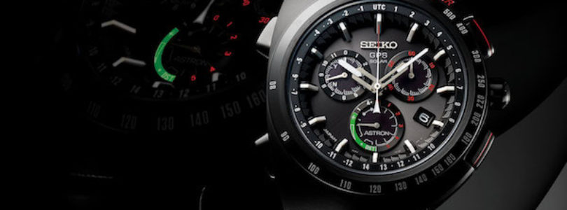 The New Seiko Giugiaro Design Chronograph with Astron GPS is here