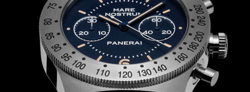 The New Panerai Mare Nostrum Chronograph PAM 716 now comes in 42mm