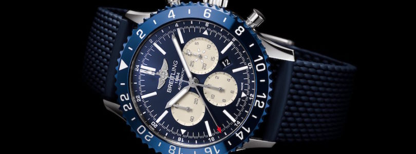 Meet the New and Elegant Breitling Chronoliner B04 Boutique Edition