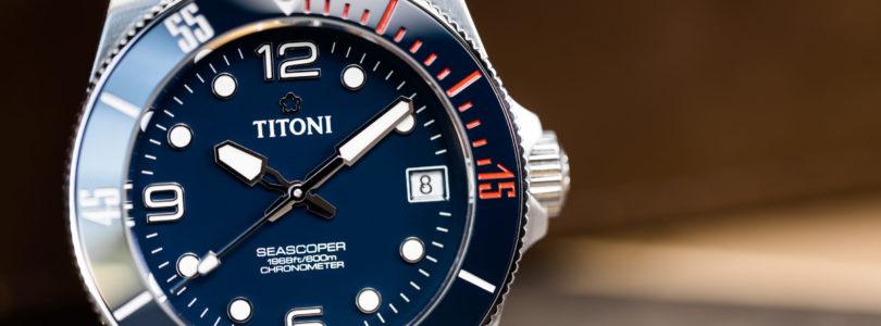 Titoni Seascoper 600 Hands-On Review
